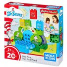 Mega Bloks Dr. Seuss One Fish, Two Fish Pond Building Set