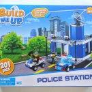 Build Me Up 201 pcs Police Station Building Block Set
