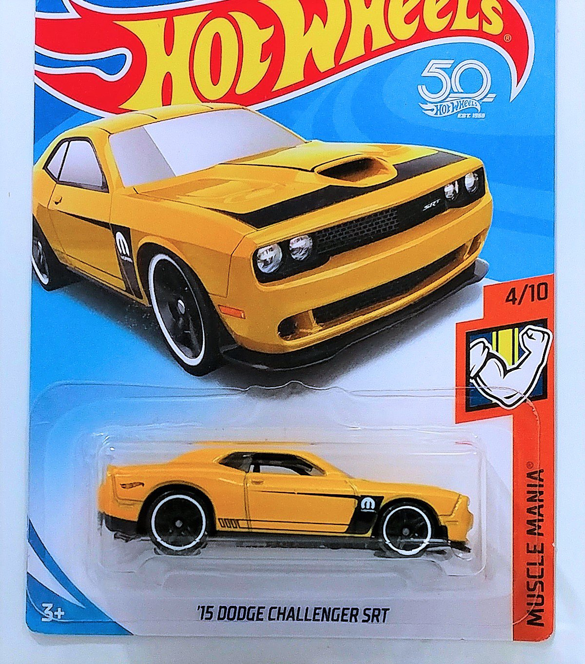 Hot Wheels '15 Dodge Challenger SRT - 2018 Muscle Mania