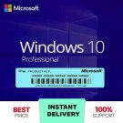 ✔️Windows 10 Pro Activation Licence Key Professional 64-32 bit Genuine Key✔️