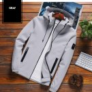 2020 New Brand Jacket Men Zipper Winter Spring Autumn Casual Solid Hooded Jackets  Fit High Quality