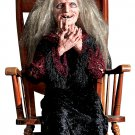 Animated Laughing Hag Prop Animated Prop halloween scary prop haunted house prop