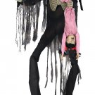 Animated Towering Boogey Man With Kid Prop scary prop haunted house prop