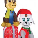 Airblown Paw Patrol On Present christmas holiday lawn decorations