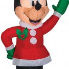 christmas holiday lawn decorations Airblown Minnie Winter Outfit