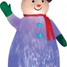 Airblown Projection Snowman  holiday lawn decorations animated airblown decorations