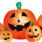 8' Inflatable Pumpkin Patch  holiday lawn decorations animated airblown decorations