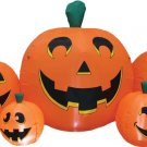 Pumpkin Patch 8.5' Long Inflatable holiday lawn decorations animated airblown decorations