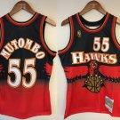 Dikembe Mutombo #55 Atlanta Hawks