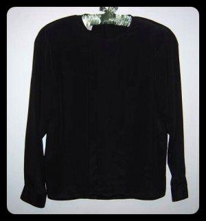 Christian Dior Black Blouse Size 8