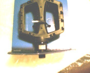 PAIR BMX type, for 1-piece crank.Bicycle pedals... S&H is $5.95 or $2.95
