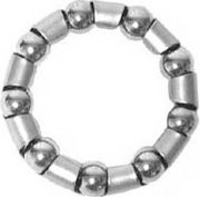 Bearing,  for 1-piece bicycle crank. 9 ball with retainer.  #64 size