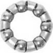 """Bearing, # 13 size, 7 balls for most bicycle wheel that has 3/8"""" diameter axle"""