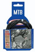 """46"""" housing, 78"""" teflon covered inner cable for most  ATB, MTN,  bicycle brake. S&H $3.00 or $1.25"""