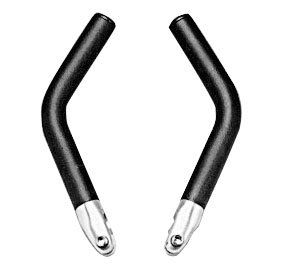 Handlebar ENDS for ATB and MTN bicycle. BLACK color .... S&H is $6.95 or $3.50