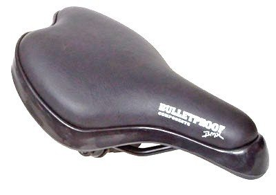 """SEAT for bicycle.  BMX style.  4 1/2""""  wide x  8 1/2"""" long """". BLACK .... S&H is $6.95 or $3.50"""