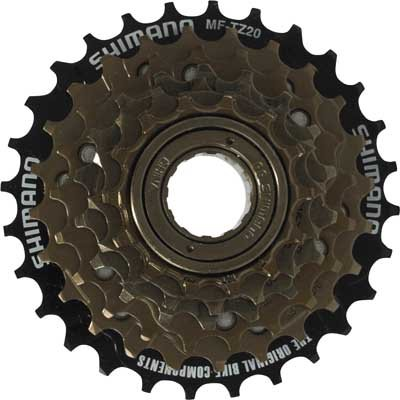 FREEWHEEL for 6, 12, or 18-speed bicycle.  SHIMANO ... S&H is $6.95 or $2.95