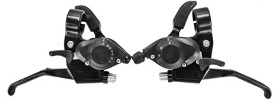 Brake Levers and index Shifters combined, Front and Rear for bicycle 3 x 7spd.  S&H $6.95 or $3.50