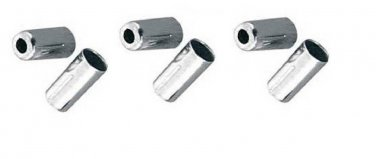 6 _ Bicycle Brake Cable FERRULE for 5 mm diameter cable housing.... S&H is $3.00 or $0.35
