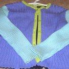 GYMBOREE SPRING SHOWERS Color Block Cardigan Sweater 4