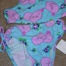 BREAKING WAVES Aqua Purple Tankini Swimsuit 5 NWT