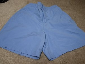 Ladies CHEROKEE Blue Shorts S 6