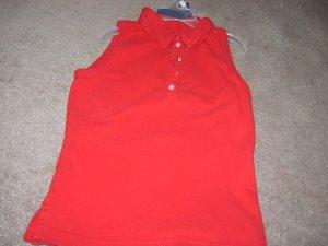 Ladies/Juniors AEROPOSTALE Sleeveless Red Shirt S 4 6