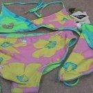 Girls SPEEDO Reversible Floral Print Bikini 14 NEW NWT Item number: 250207939517