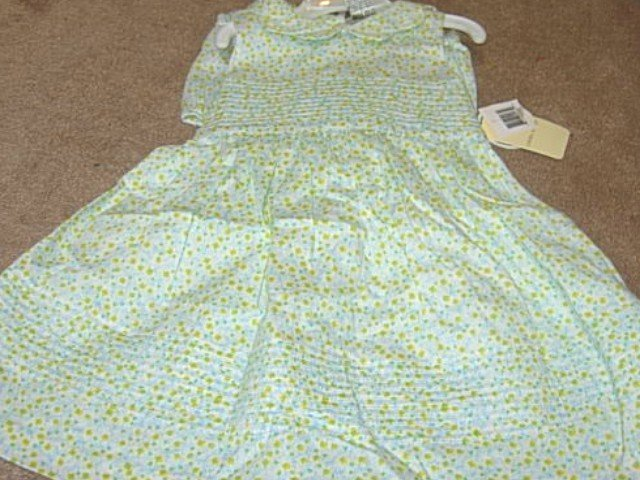 Girls Boutique LAURA ASHLEY Floral Dress 18mo NWT