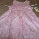 Girls Boutique LAURA ASHLEY Pink Floral Dress 18mo NWT