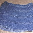 Girls CHILDREN's PLACE Tiered Denim Skort 6/9mo