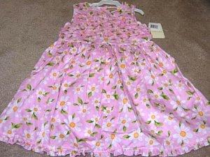 Girls Boutique LAURA ASHLEY Pink Daisy Dress 3T NWT