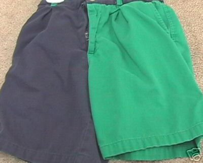 Boys Boutique KITESTRINGS Navy/Green Shorts 6