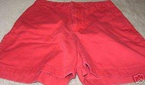 Ladies CHEROKEE Red Shorts 6