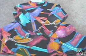 Girls TAPEMEASURE Trendy Art Deco Dress S 2T