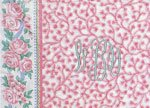 Vera Bradley RETIRED PINK PATTERN Rose Garment Bag Beautiful