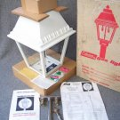 "Vintage 21"" Pole Mount COLEMAN Yard Patio Driveway Propane Gas Light Decor LANTERN w Box 1969"