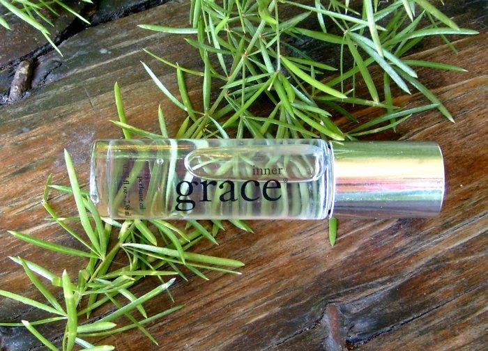 Philosophy Inner Grace Perfume Oil Roll On Full Size .27 Ounce FREE SHIPPING