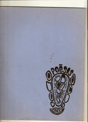 Vintage Yearbook Book 1965 1966 1967 New York NY High School Of Art And Design Yearbooks 65 66 67
