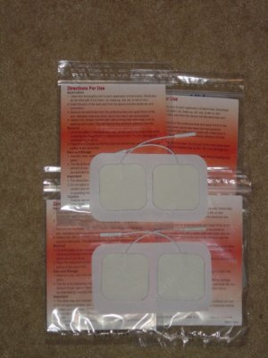 """16-TENS / Electrode SQUARE 1.5"""" x 1.5"""" PADS NEW"""