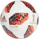 RED TELSTAR ADIDAS SOCCER BALL FIFA WORLD CUP 2018 RUSSIA MATCH FOOTBALL SIZE 5