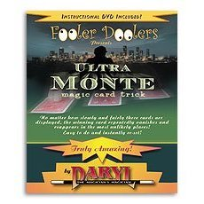 Ultra Monte Card Trick w/DVD (by Daryl)