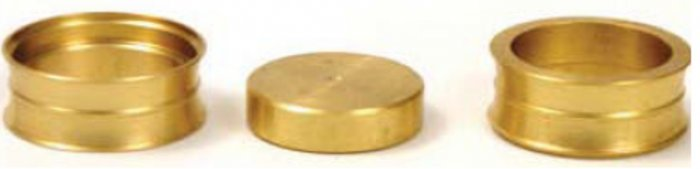 Magical Coin Squeeze Trick (by Magic Makers Inc.) (Brass)