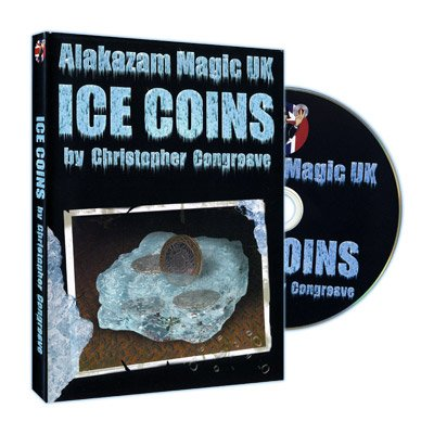 Ice Coins (W/ DVD, USA Half Dollar) by Christopher Congreave