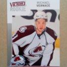 2009-10 Upper Deck Victory Swedish #246 Michael Vernace Colorado Avalanche Rookie