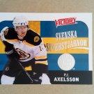 2009-10 Upper Deck Victory Swedish Svenska Superstjarnor #SS4 P.J. Axelsson