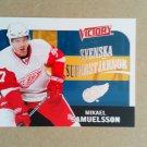 2009-10 Upper Deck Victory Swedish Svenska Superstjarnor #SS7 Mikael Samuelsson