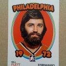 2009-10 In The Game 1972 The Year In Hockey #74 Bill Flett Philadelphia Flyers