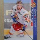 2012-13 Cardset Finland #058 Nichlas Hardt Jokerit Helsinki
