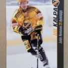 2012-13 Cardset Finland #082 Jukka Hentunen KalPa Kuopio